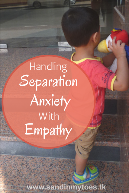 Using empathy to help your toddler or preschooler deal with separation anxiety.