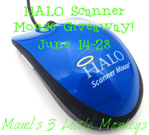 HALO Scanner Mouse Giveaway