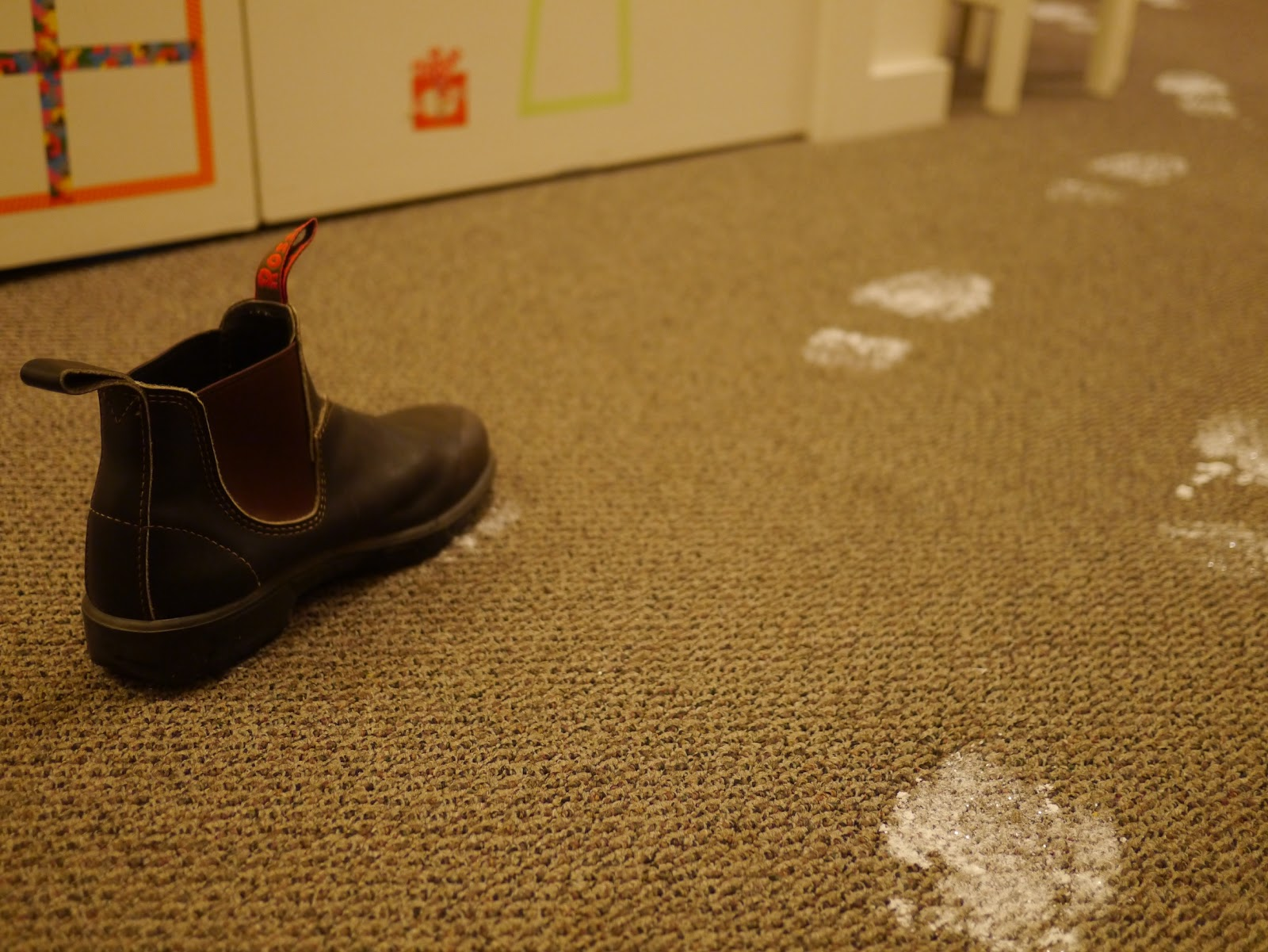 Little Hiccups Santa S Footprints