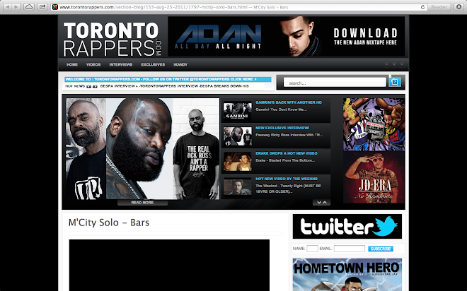 SOLO in torontorappers.com