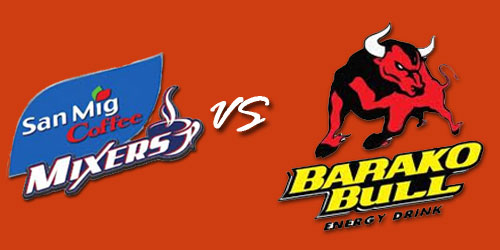 PBA San Mig Coffee Mixers vs Barako Bull Energy Cola Live Streaming February 8, 2013