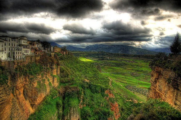 Sacred ground travel magazine smooth getaway postcard from ronda