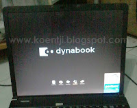 instal windows di netbook toshiba dynabook
