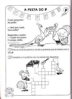 Atividades Português para o 1º ano do fundamental