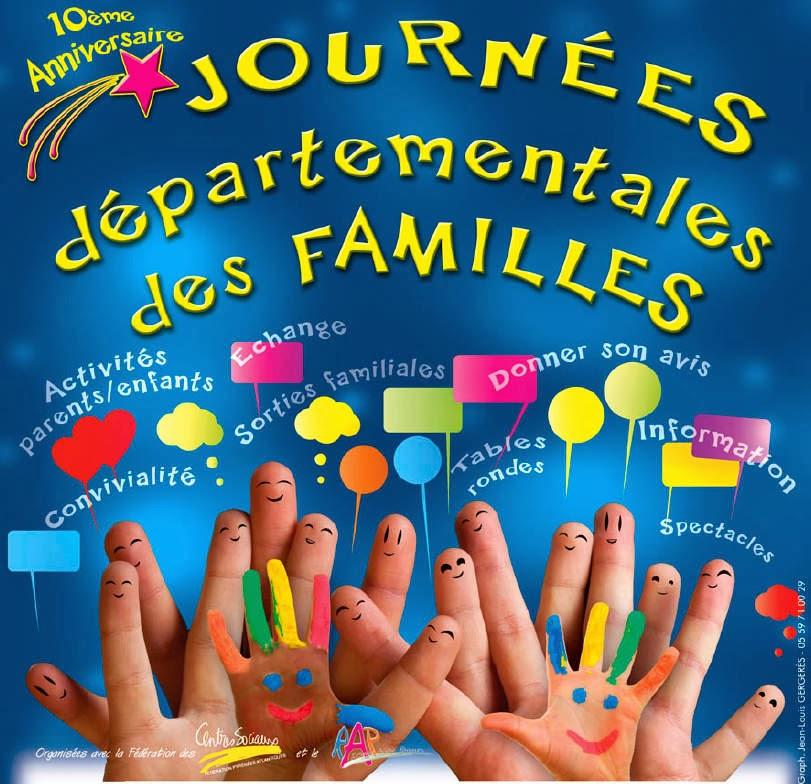 Journées départementales des familles 2014