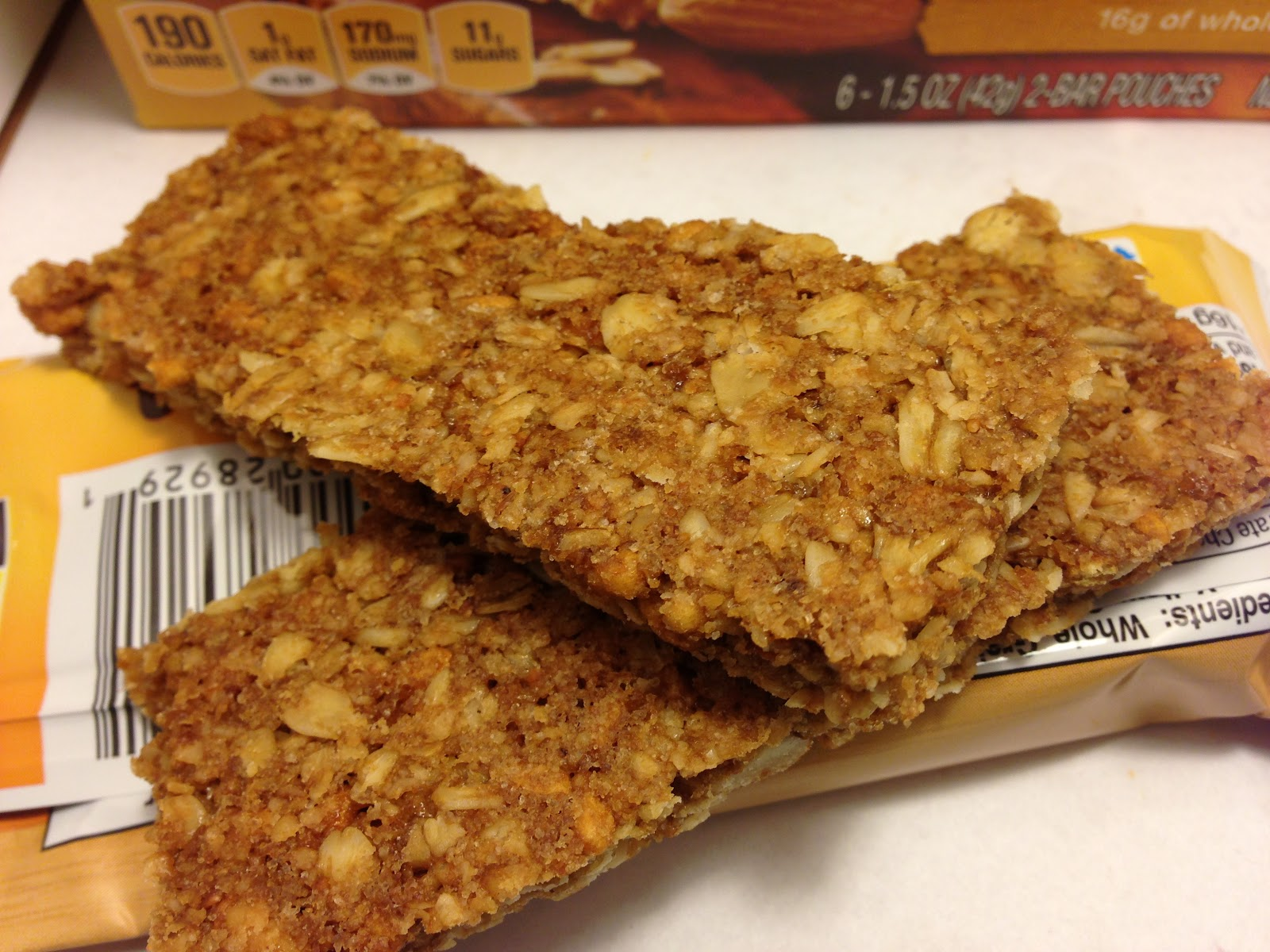 ... Food Dude: Review: Nature Valley Crunchy Roasted Almond Granola Bars