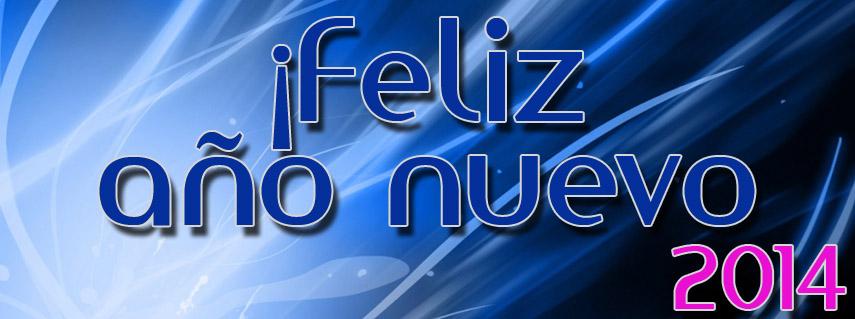 Feliz Año Nuevo 2014 Facebook Cover