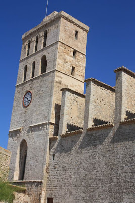 Bell Tower of Ibiza Cathedral