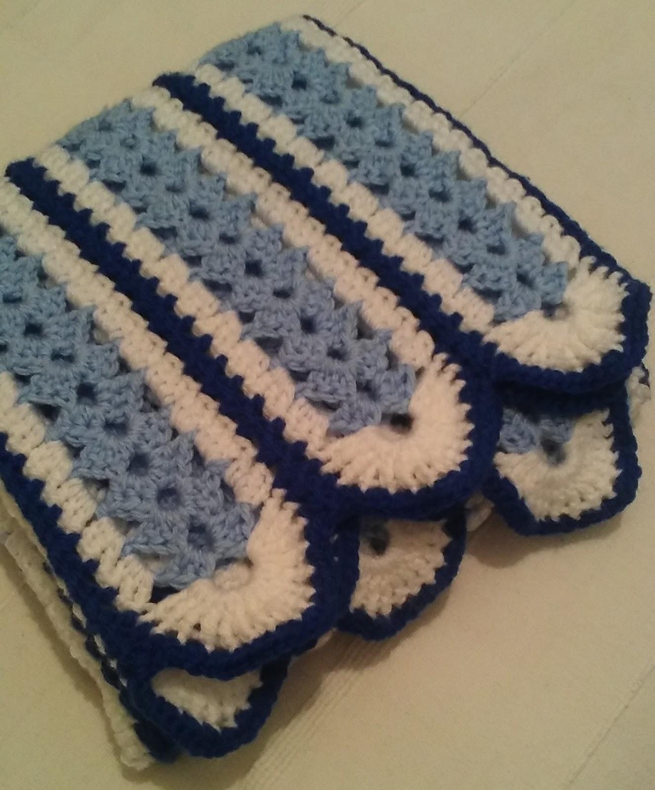 Crochet & Knitting: Mile A Minute Blanket