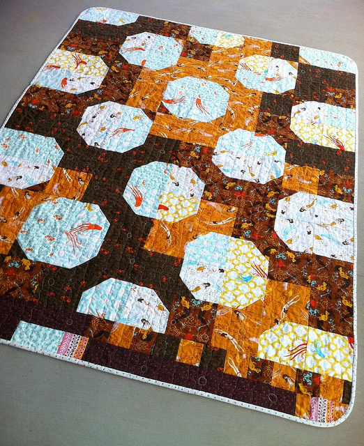 Tide Pools {a bowtie quilt}