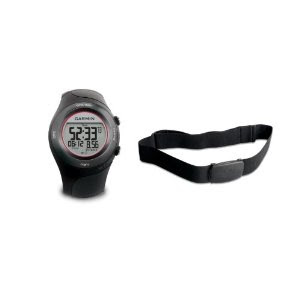 GPS-Laufuhr Garmin Forerunner 410 HR black mit Brustgürtel für 189,99 Euro bei Amazon