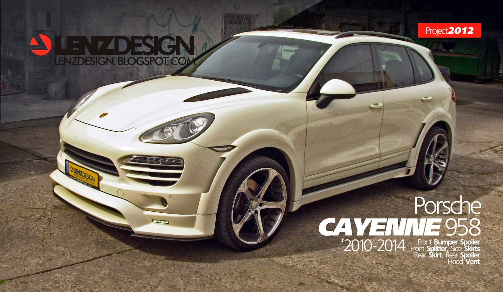 porsche cayenne 958 tuning lenzdesign performance wide body kit auto cars benz. Black Bedroom Furniture Sets. Home Design Ideas