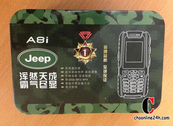 Điện thoại độc Nokia 6110, Jeep A8i Jeep A8s 2 sim, xem tivi, nghe nhạc, chụp hình, pin khủng