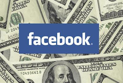 facebook: revenus