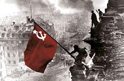 Homenaje a los españoles caídos en la defensa de la URSS durante la Segunda Guerra Mundial