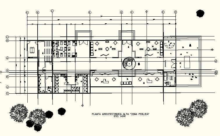 Proceso arquitectonico de un museo etnografico 4 for Ejes arquitectonicos