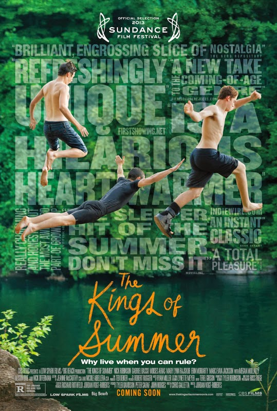 The Kings of Summer (2013) [DVDRip XviD][Castellano AC3 5.1][Comedia]