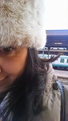 selfie treno