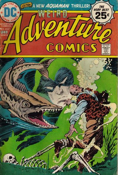 Adventure Comics #437, Jim Aparo, the Spectre