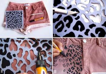 eu tentando ser meiga como fazer shorts customizados passo a passo. Black Bedroom Furniture Sets. Home Design Ideas