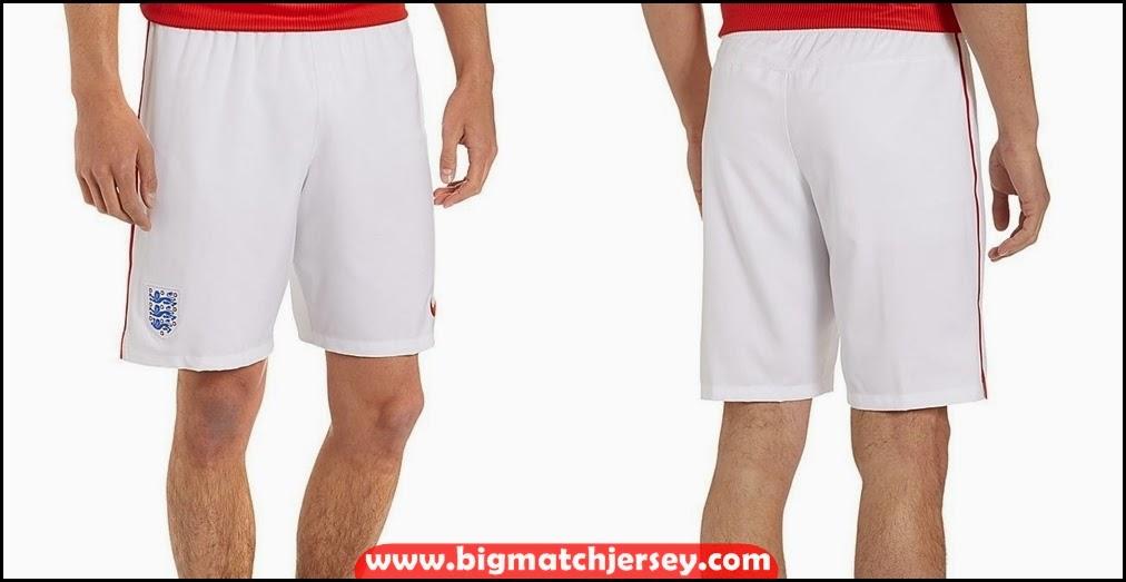 Shorts Celana Bola Grade Ori Timnas Inggris Away 2014 World Cup