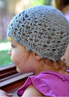 Pattern: Picot and Lace Baby Cloche