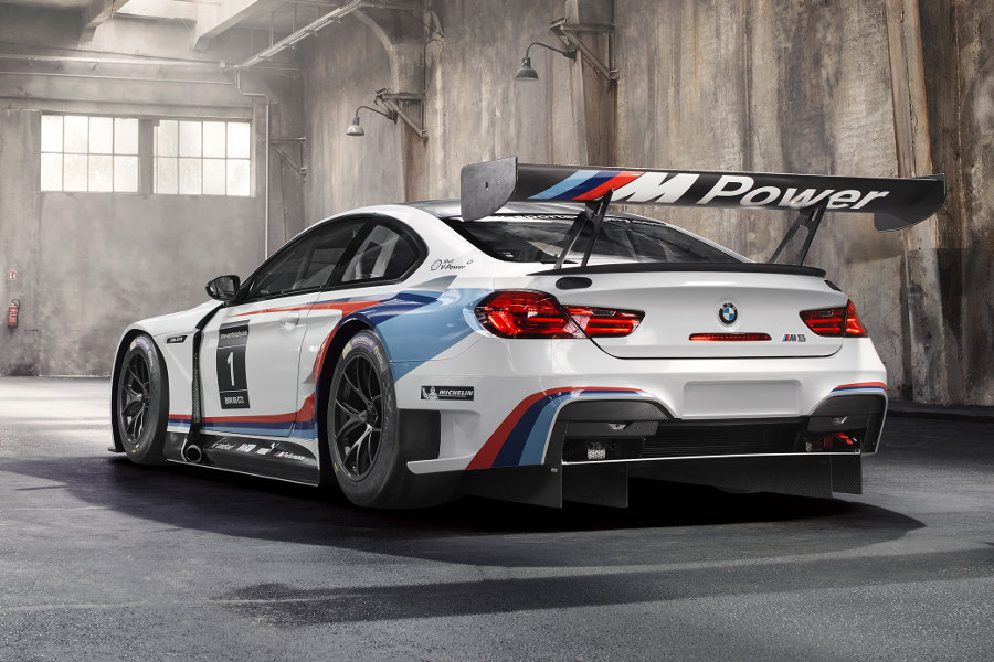 the 2016 bmw m6 gt3 sheds its disguise autoesque. Black Bedroom Furniture Sets. Home Design Ideas