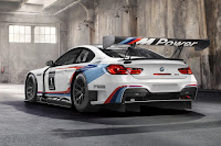 BMW M6 GT3 2016 Rear Side