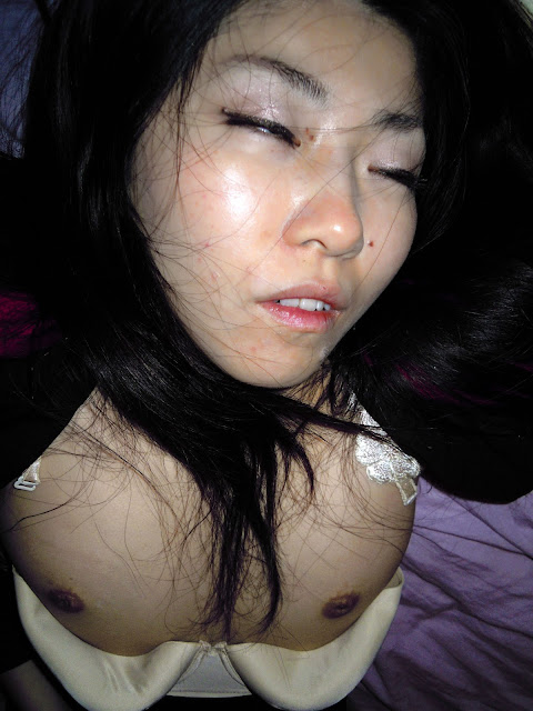 Very Beautiful & Super Lovely Japanese drunk girlfriend's disgraceful inverted nipple and hairy pussy photos leaked by her sex partner (57pix)