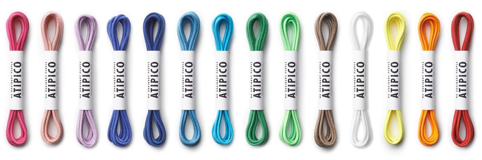 Dress shoe laces colors