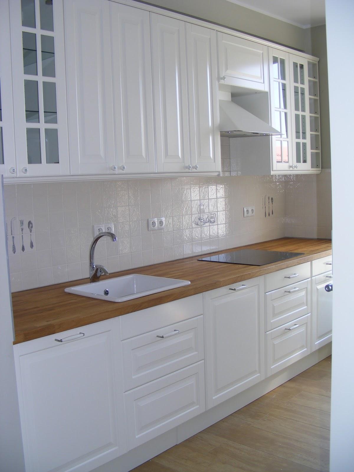 My Dream White Home Kuchnia Moich Marzen