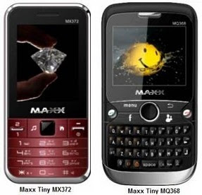 Maxx Tiny MQ368 Specifications