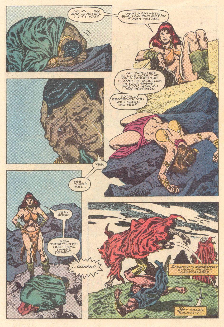 Conan the Barbarian (1970) Issue #183 #195 - English 19