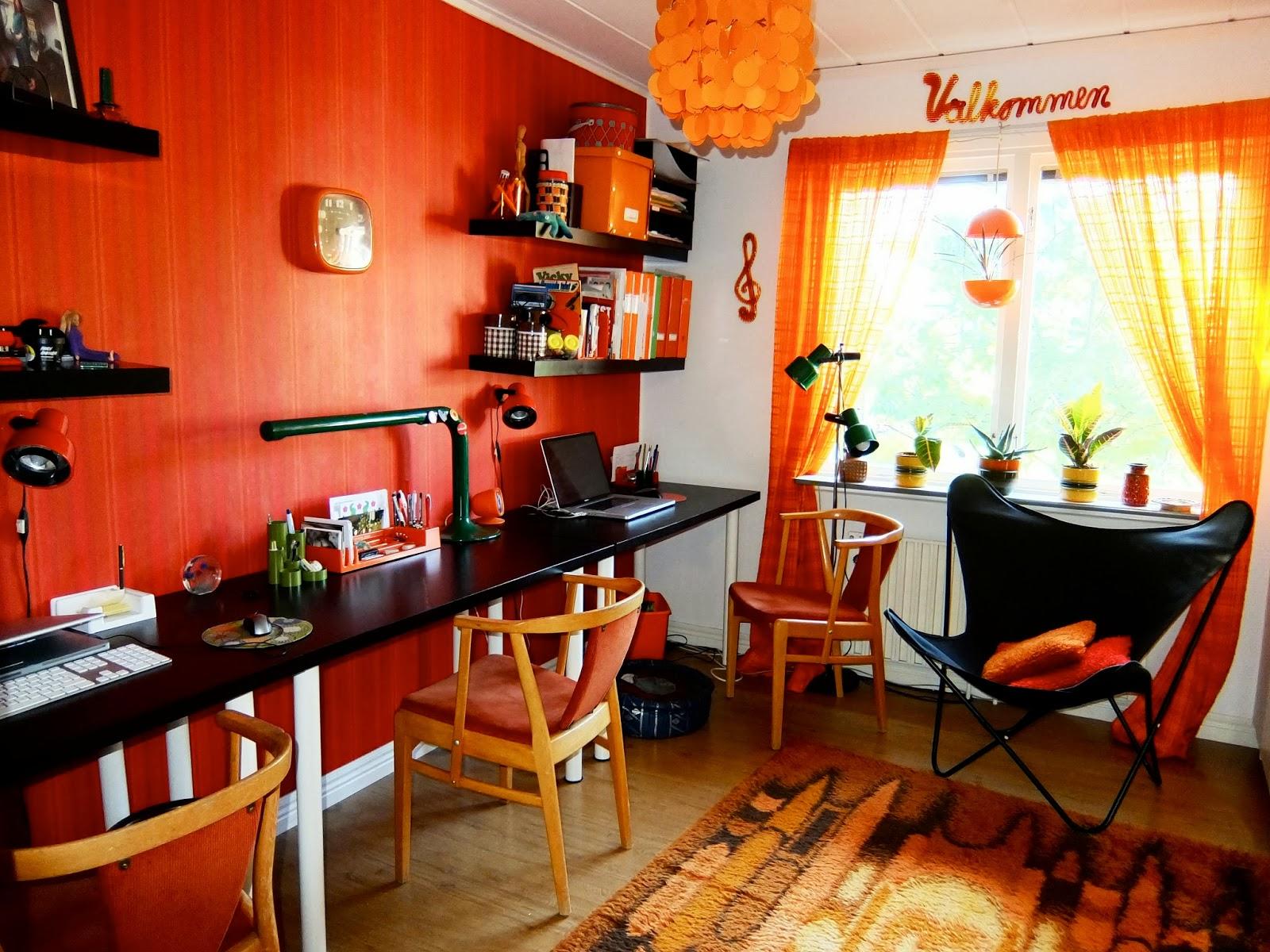 Mysplysch & mexitegel: hemma hos oss: mitt arbetsrum