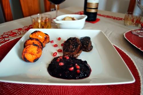 Cocinando en los fiordos entrecot de canguro con salsa de - Como cocinar un entrecot ...