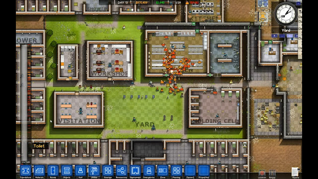 Prison Architect screenshot rambling fox gaming reviews