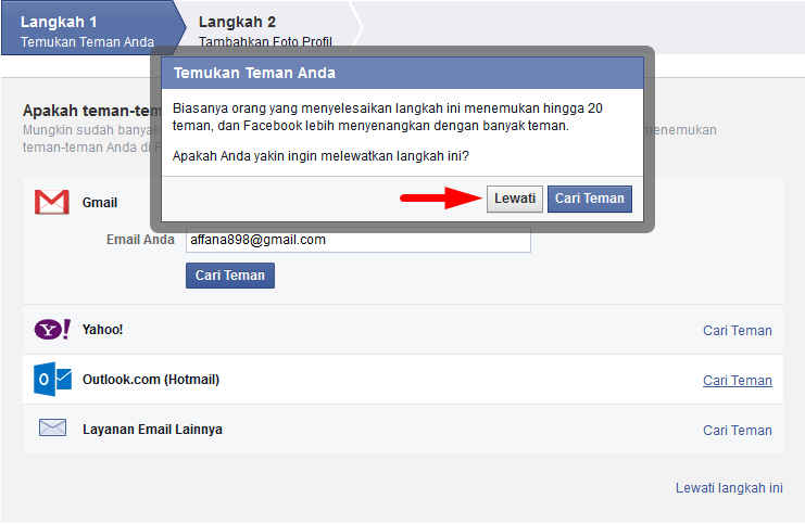 Cara Membuat Mendaftar Akun Facebook Baru