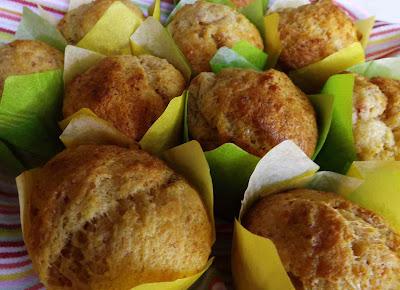 muffin salati con mortadella di bologna