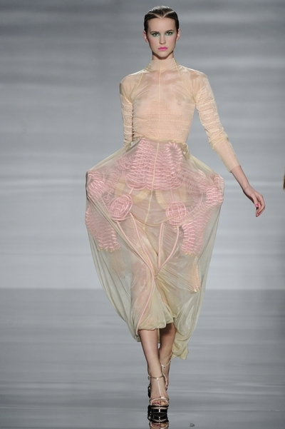 Lucy Upsher university of westminster graduate fashion show 2012