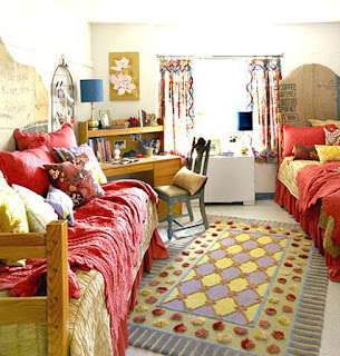 Image small dorm room decorating