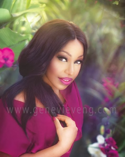 Rita Dominic,Genevieve Magazine,February 2014 Issue