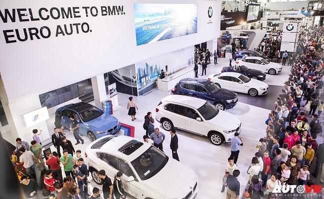 Gian hàng BMW tại triển lãm VIMS 2015