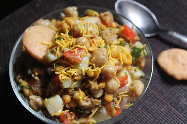 Healthy Aloo Chana Chaat Recipe