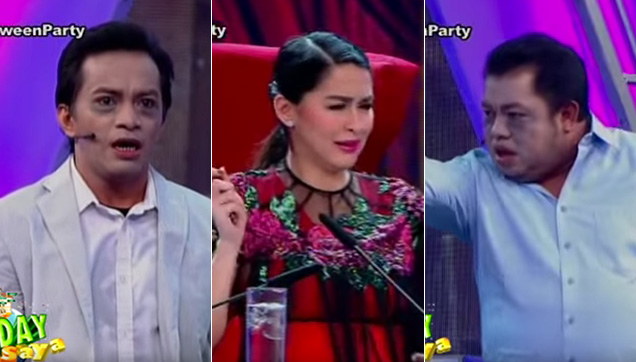 Boobay as Oyo, GMA Kapuso Primetime Queen Marian Rivera as Judge MD and Norman as Emil.
