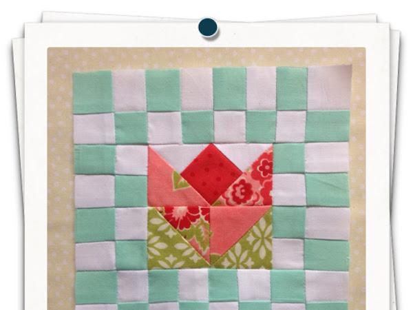 Chatelaine- Free BOW Sampler Quilt Block 38