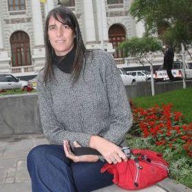Gabriela Pérez del Solar sin maquillaje