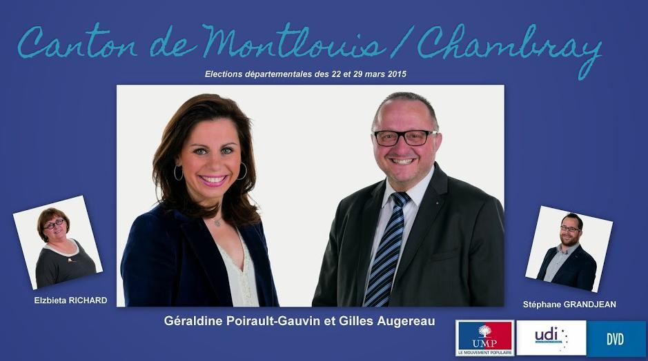 Canton de Montlouis / Chambray