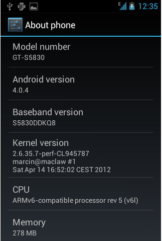 cara upgrade samsung galaxy ace ke ice cream sandwich smilepedia