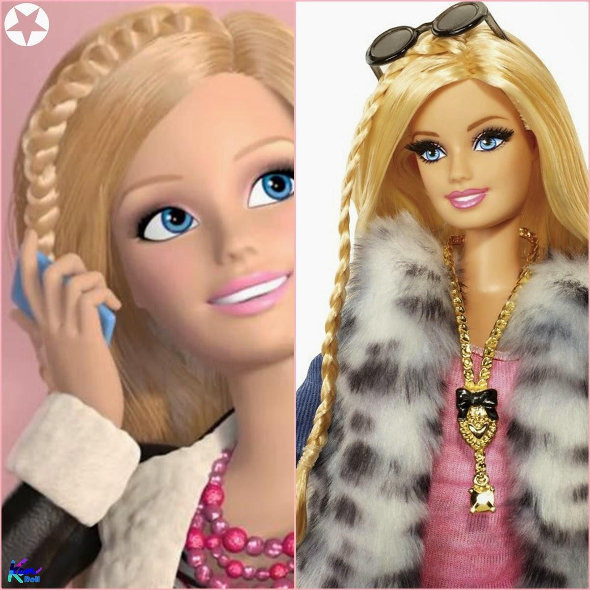 ... bonecas da cole??o Barbie Style ainda apareceram na web serie