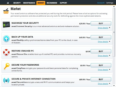 Avast Internet Security 8.0 - Market Products